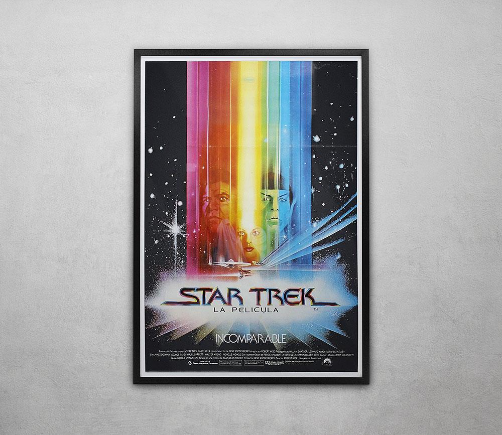 Star Trek Framed Poster
