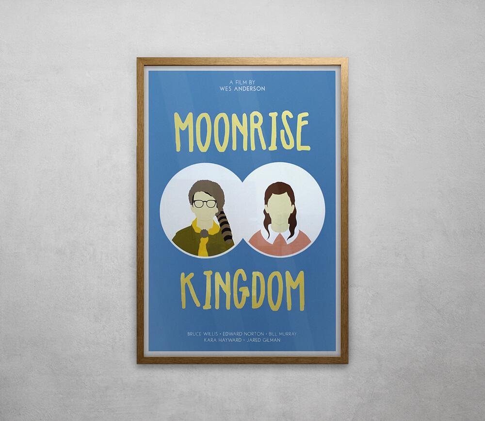 Moonrise Kingdom Framed Poster
