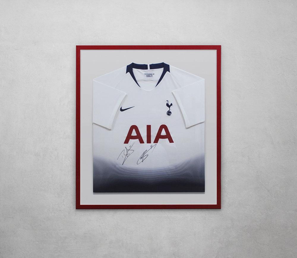 Tottenham Jersey Framed